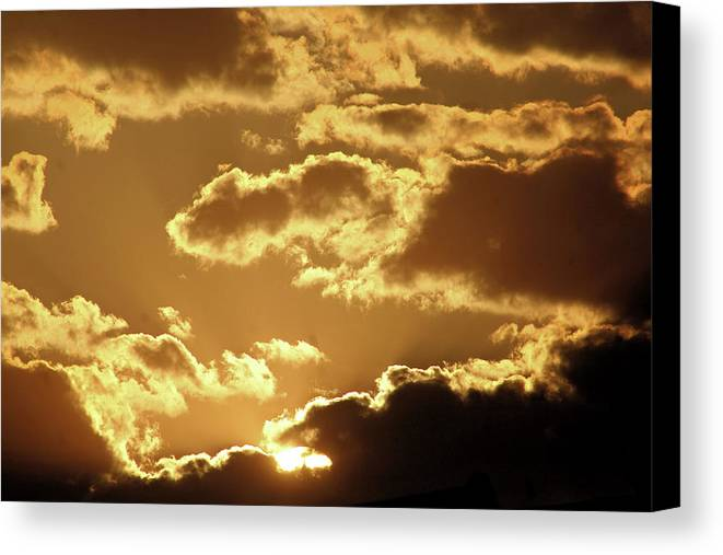 Philly Canvas Print featuring the photograph Stairway 2 Heaven by Tyquill Williams