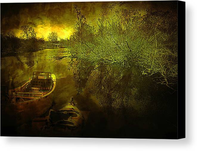 Storm Canvas Print featuring the photograph Storm On Lake Washington by Jeff Burgess