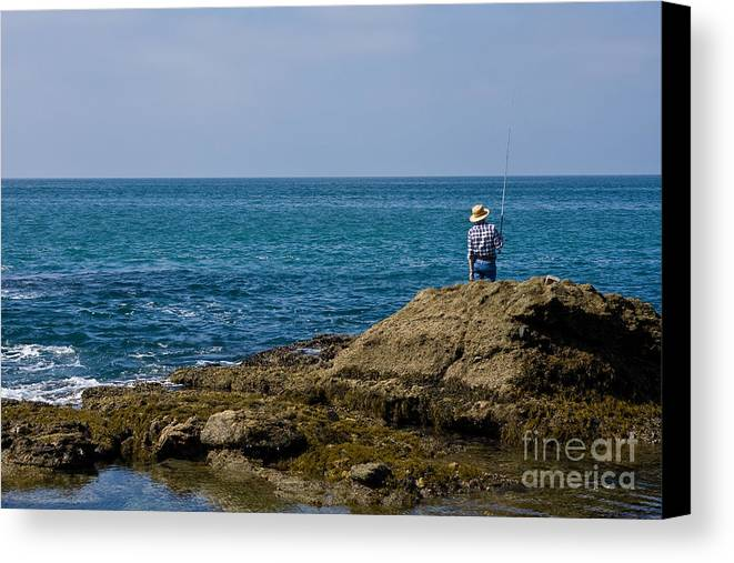 Man Canvas Print featuring the photograph Stress Free by Carl Jackson