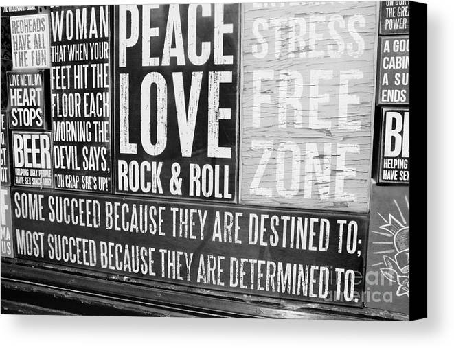 Metal Prints Canvas Print featuring the photograph Stress Free Zone Too by Dorothy Hilde