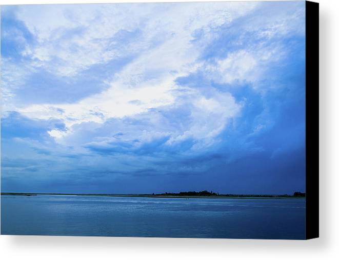 Landscape Canvas Print featuring the photograph Swirling Sky by Adam Pawlak