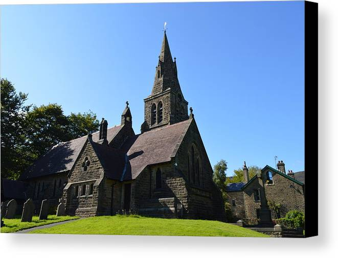 Church Canvas Print featuring the photograph The Calling by Jon Rushton