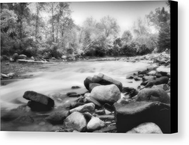 Bedford Canvas Print featuring the photograph The Creek by Kenneth Krolikowski