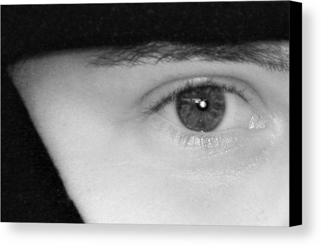 Eyes Canvas Print featuring the photograph The Eyes Have It by Christine Till
