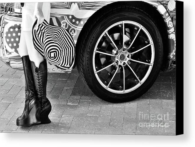 Hat Canvas Print featuring the photograph The Hat by Lisa Renee Ludlum