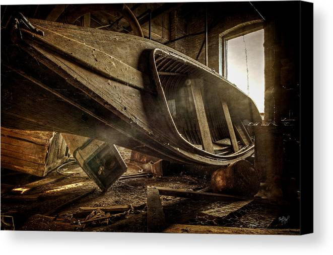 Boat Canvas Print featuring the photograph The Last Port by Everet Regal