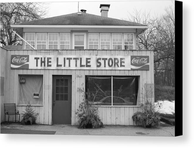 Store Canvas Print featuring the photograph The Little Store by Lauri Novak