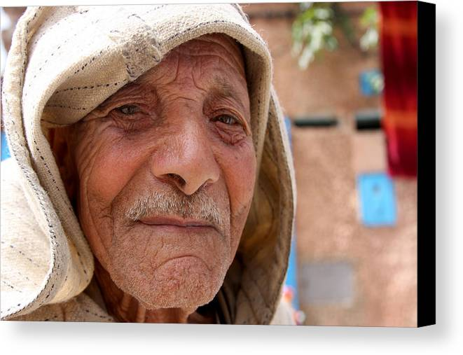 Morocco Canvas Print featuring the photograph The Moroccan Man by Jason Hochman