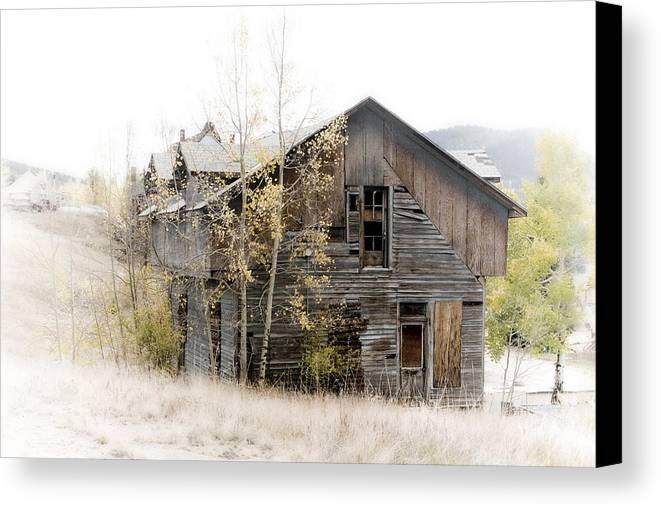 Victor Canvas Print featuring the photograph The Old Home by Graham Hughes