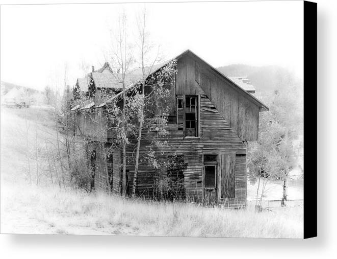 Victor Canvas Print featuring the photograph The Old House by Graham Hughes