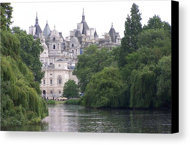 Landscape Canvas Print featuring the photograph The Princess Castle by Chuck Shafer