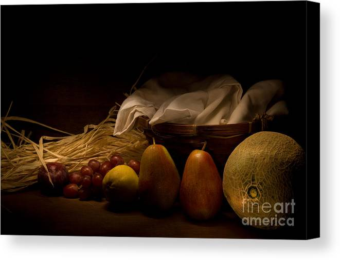 Still Life Canvas Print featuring the photograph The Revealing by Levin Rodriguez