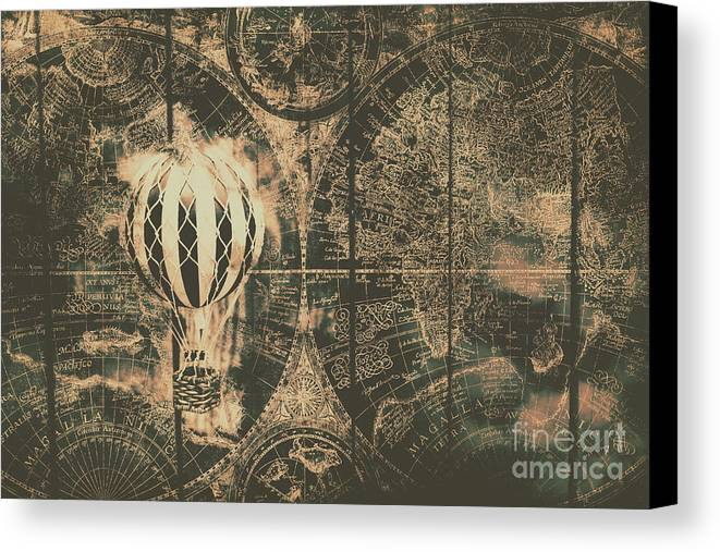 Travelling The Old World Canvas Print / Canvas Art by Jorgo ...
