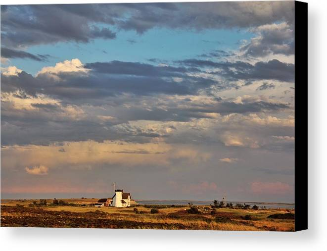 Chatham Canvas Print featuring the photograph Tucked In The Dunes by Emily Sosa