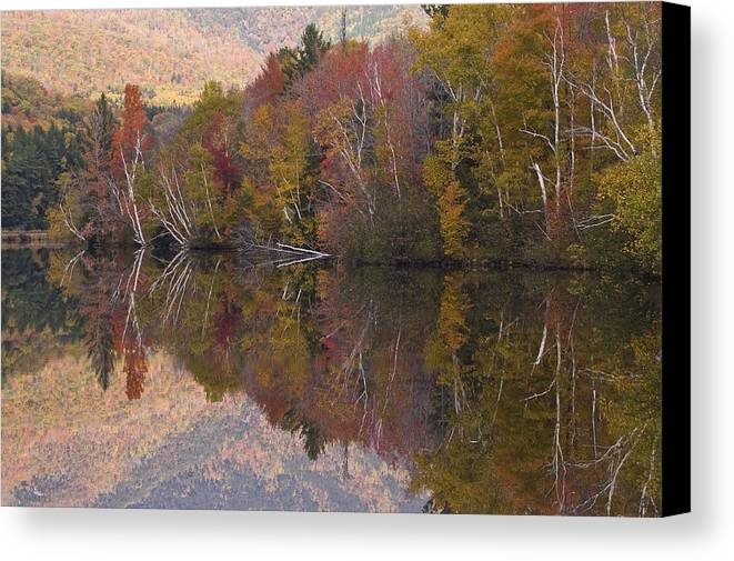 Maine Canvas Print featuring the photograph Umbagog Lake by Henry Krauzyk
