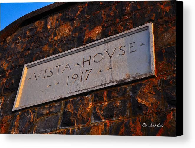 Vista House Canvas Print featuring the photograph Vista House by Noah Cole