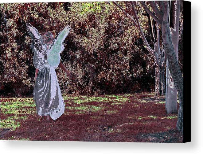 Canvas Print featuring the photograph W3 by Terry Wiklund
