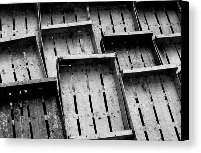 Photographer Canvas Print featuring the photograph Waiting For The Fill by Jez C Self