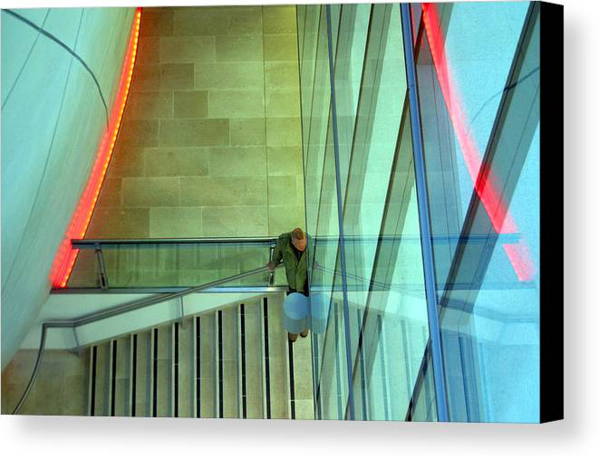 Jez C Self Canvas Print featuring the photograph Waiting Here For You by Jez C Self