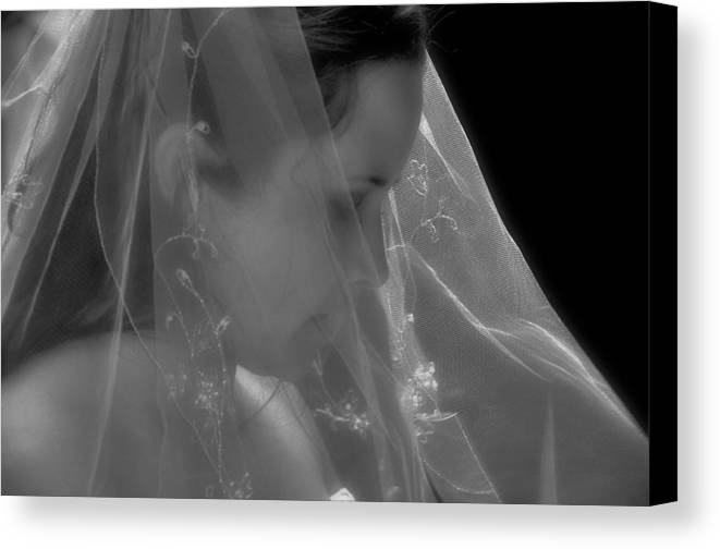 Bride Canvas Print featuring the photograph Waiting by Peter Schumacher