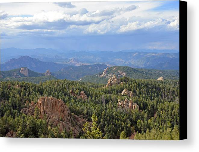 Colorado Canvas Print featuring the photograph Watching Over by Robert Kenny