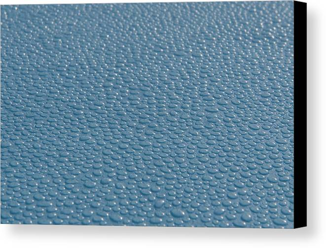 Water Canvas Print featuring the photograph Water Beads by Chris Pickett
