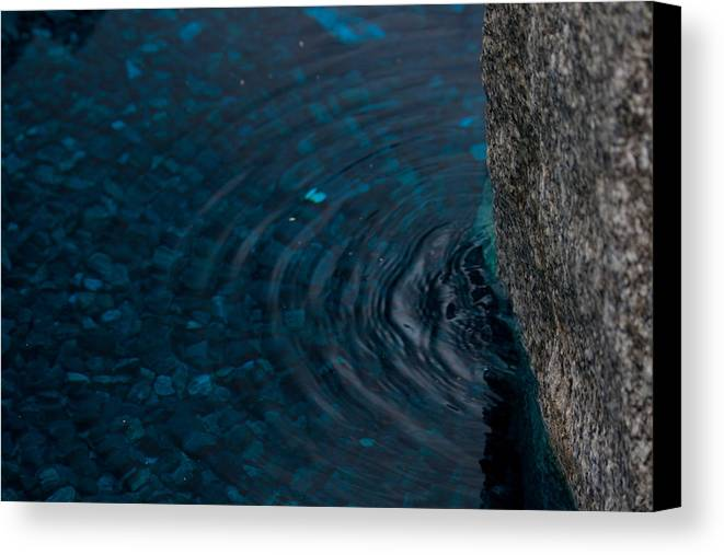 Water Canvas Print featuring the photograph Water by Marta Grabska-Press