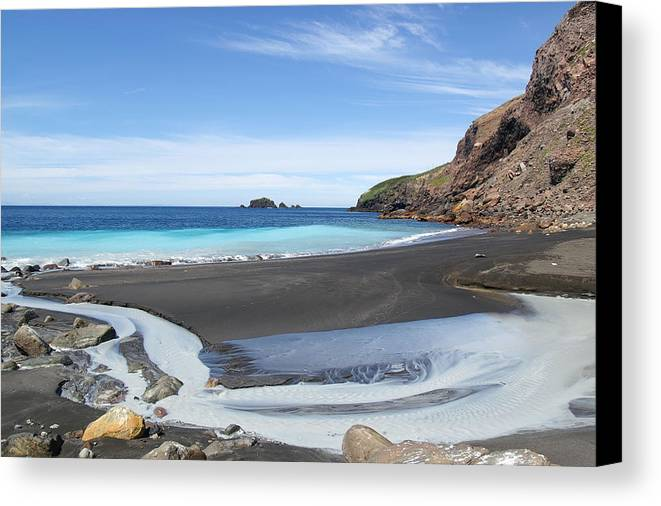 White Island Canvas Print featuring the photograph White Island In New Zealand by Jessica Rose