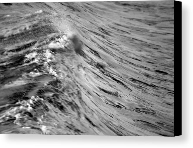 Wave Canvas Print featuring the photograph Wind Swept by Brad Scott