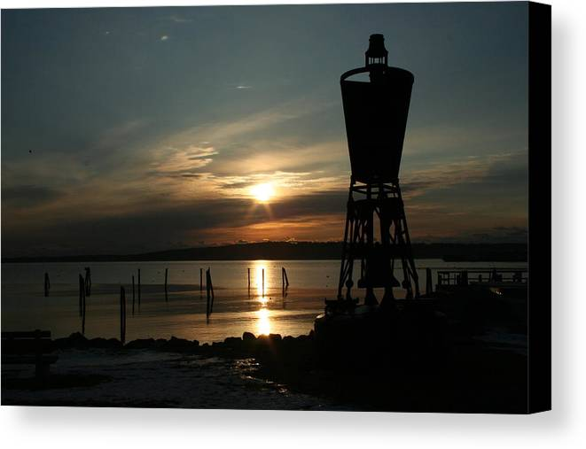 Landscape Canvas Print featuring the photograph Winter Dawn by Doug Mills