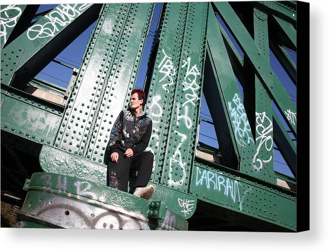 Photographer Canvas Print featuring the photograph Wrong Thoughts by Jez C Self