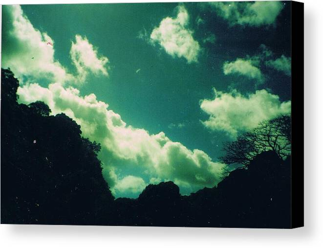 Sky Canvas Print featuring the photograph Yon Sky by Anne-Elizabeth Whiteway