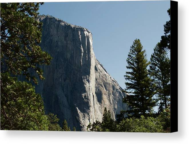 Landscape Canvas Print featuring the photograph Yosemite by Nick Jones