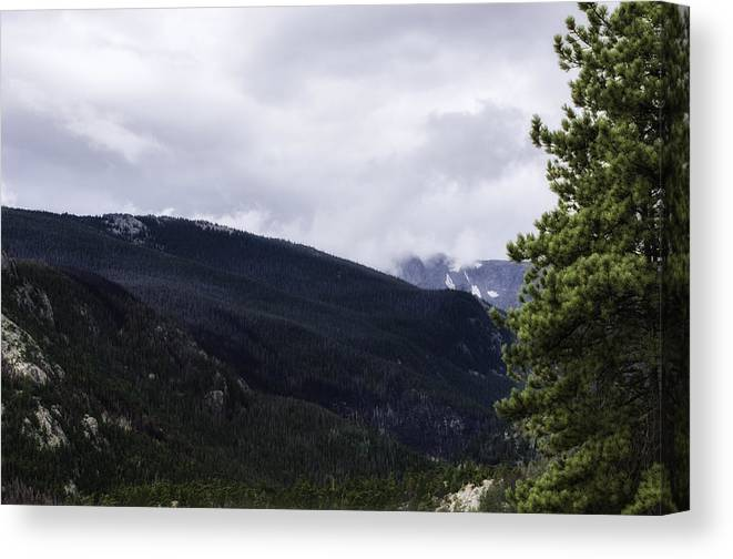Rocky Mountain Canvas Print featuring the photograph Mountain High by Rob Weisenbaugh