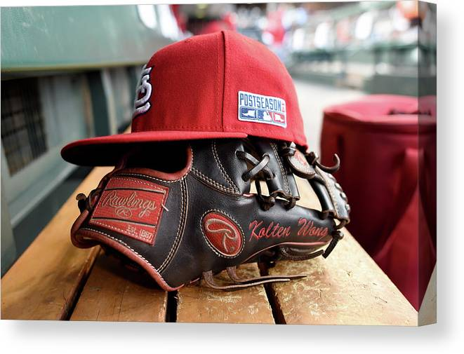 St. Louis Cardinals Canvas Print featuring the photograph Nlcs - St Louis Cardinals V San 1 by Thearon W. Henderson