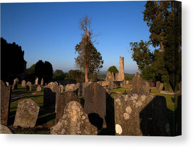Photography Canvas Print featuring the photograph St Marys Augustinian Abbey, Ferns by Panoramic Images
