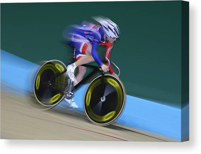 Uci Track Cycling World Championships Canvas Print