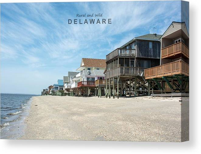 Delaware Canvas Print featuring the photograph Delaware by American Roadside