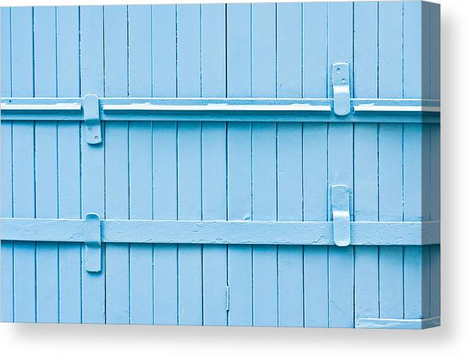 Abstract Canvas Print featuring the photograph Wooden Background by Tom Gowanlock