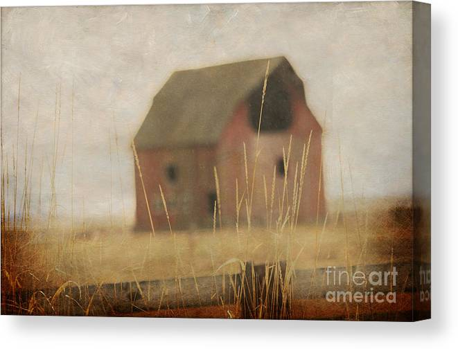 Old Barn Canvas Print featuring the photograph Old Barn by Irina Hays