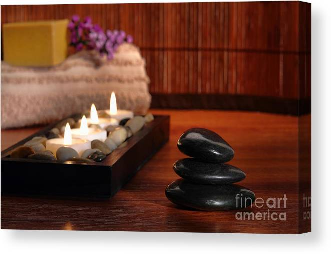 Aromatherapy Canvas Print featuring the photograph Relaxation by Olivier Le Queinec