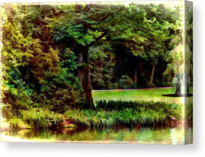 Nature Canvas Print featuring the photograph Water's Edge by Joyce Baldassarre