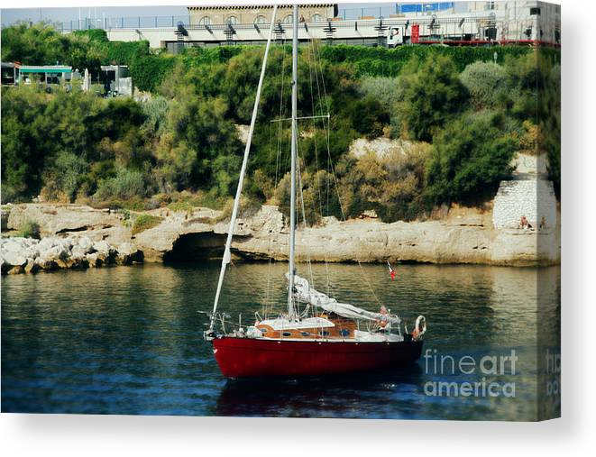 Marseille Canvas Print featuring the photograph Marseille by Rafael Pacheco