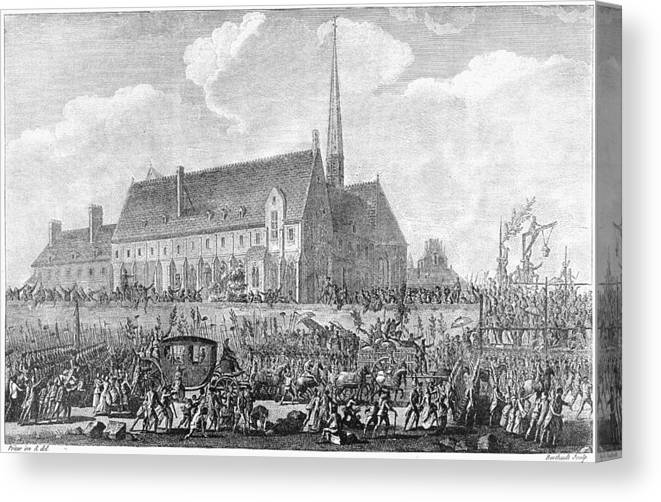 1789 Canvas Print featuring the painting French Revolution, 1789 by Granger