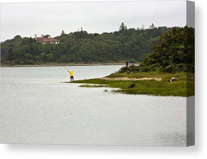 Fishing Canvas Print featuring the photograph A Day Of Fishing 2 by Dennis Coates