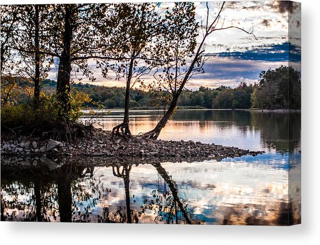 Devils Cove Canvas Print featuring the photograph Ahhh by Sheri Bartoszek