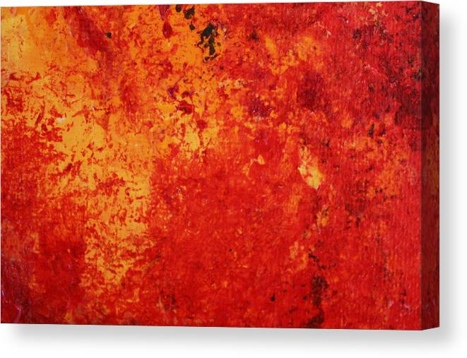 Modern Abstract Canvas Print featuring the painting Alive 2 by Shelly Sexton