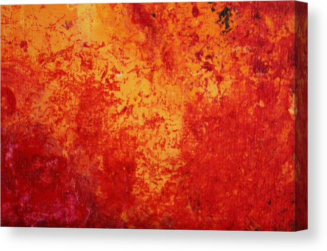 Modern Abstract Canvas Print featuring the painting Alive by Shelly Sexton