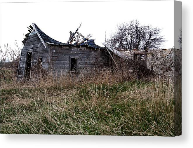 Abandoned Canvas Print featuring the photograph And So Your Time Will Pass by Chuck De La Rosa