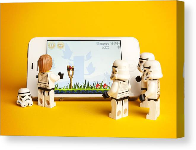 LEGO Star Wars Stormtroopers Stretched Canvas Wall Art ~ More Size
